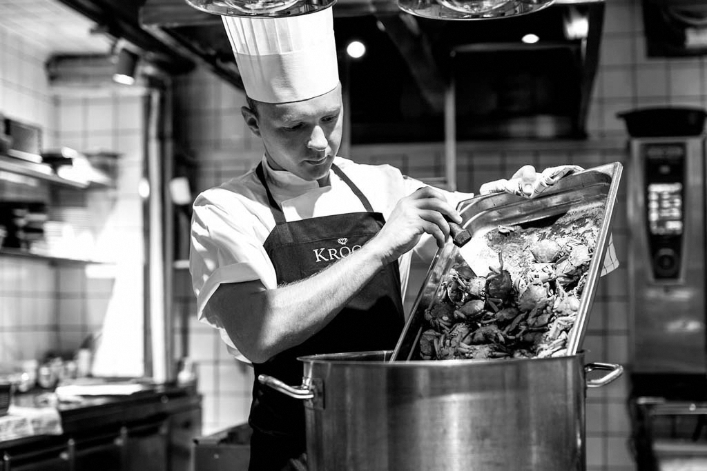 Billede af kok Nikolaj Mortensen